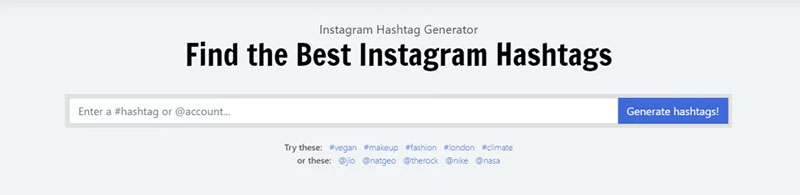 Metahashtags Instagram